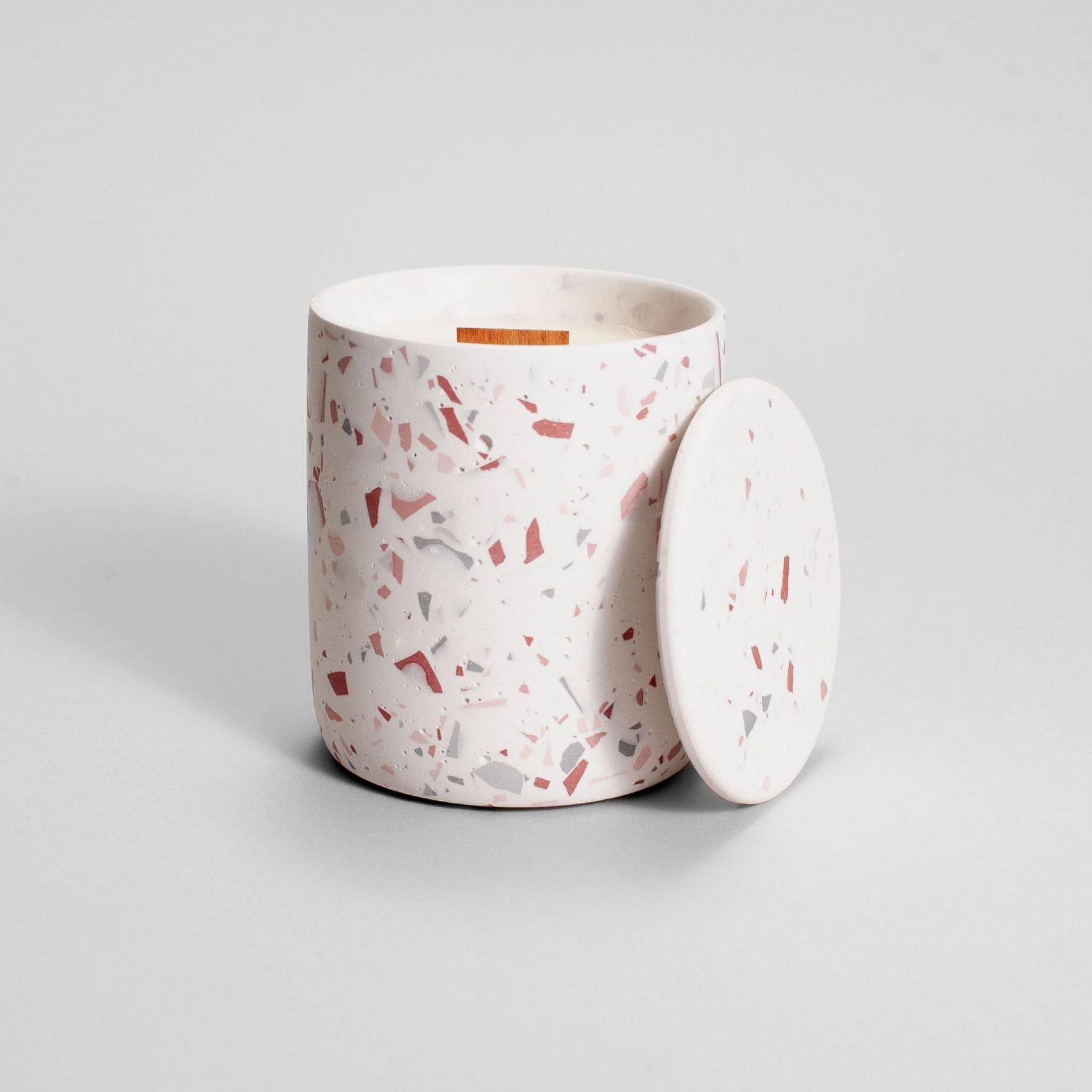 Zdjęcie produktu MEDIO PINK TERRAZZO - świeczka