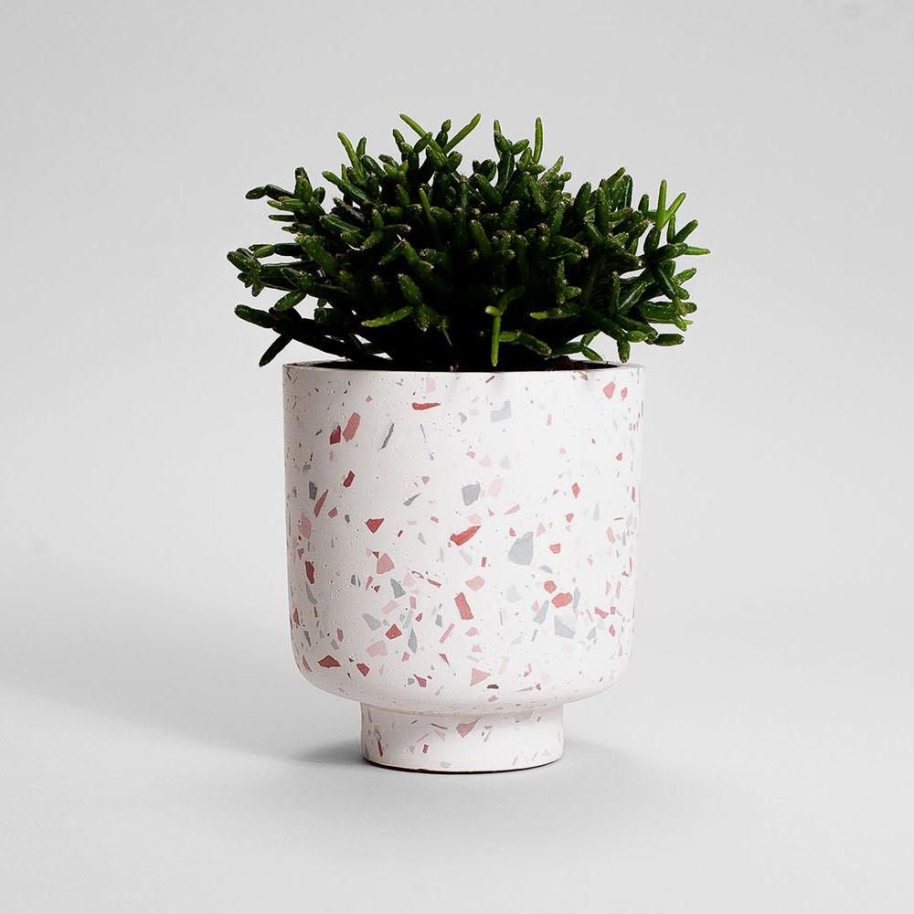 Zdjęcie produktu CAMPIO PINK TERRAZZO PLANT  - doniczka