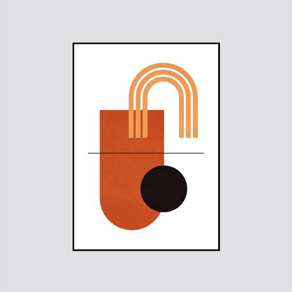 Zdjęcie produktu Plakat Boho Geometria