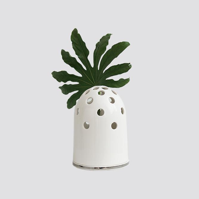 Zdjęcie produktu FLY'S EYE SILVER - wazon mały