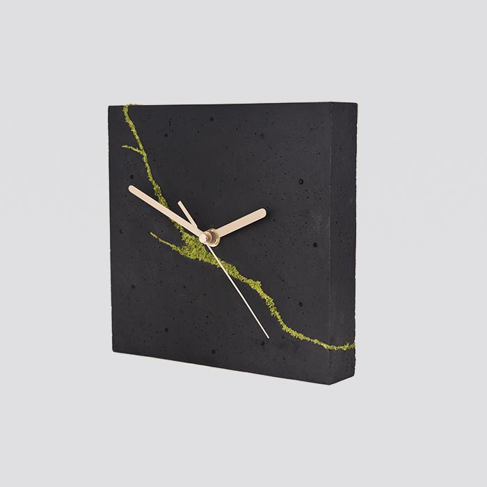 Zdjęcie produktu Kwadratowy zegar stołowy/ścienny