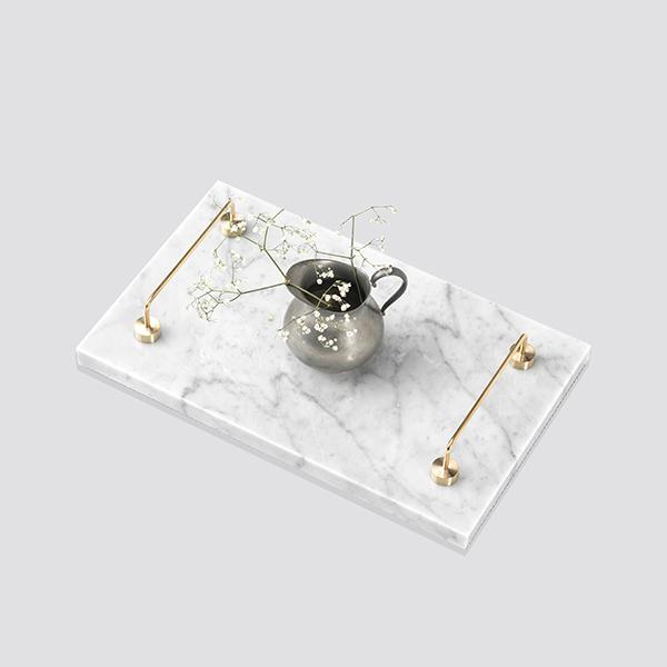 Zdjęcie produktu Tray - wariant z uchwytem mosiężnym