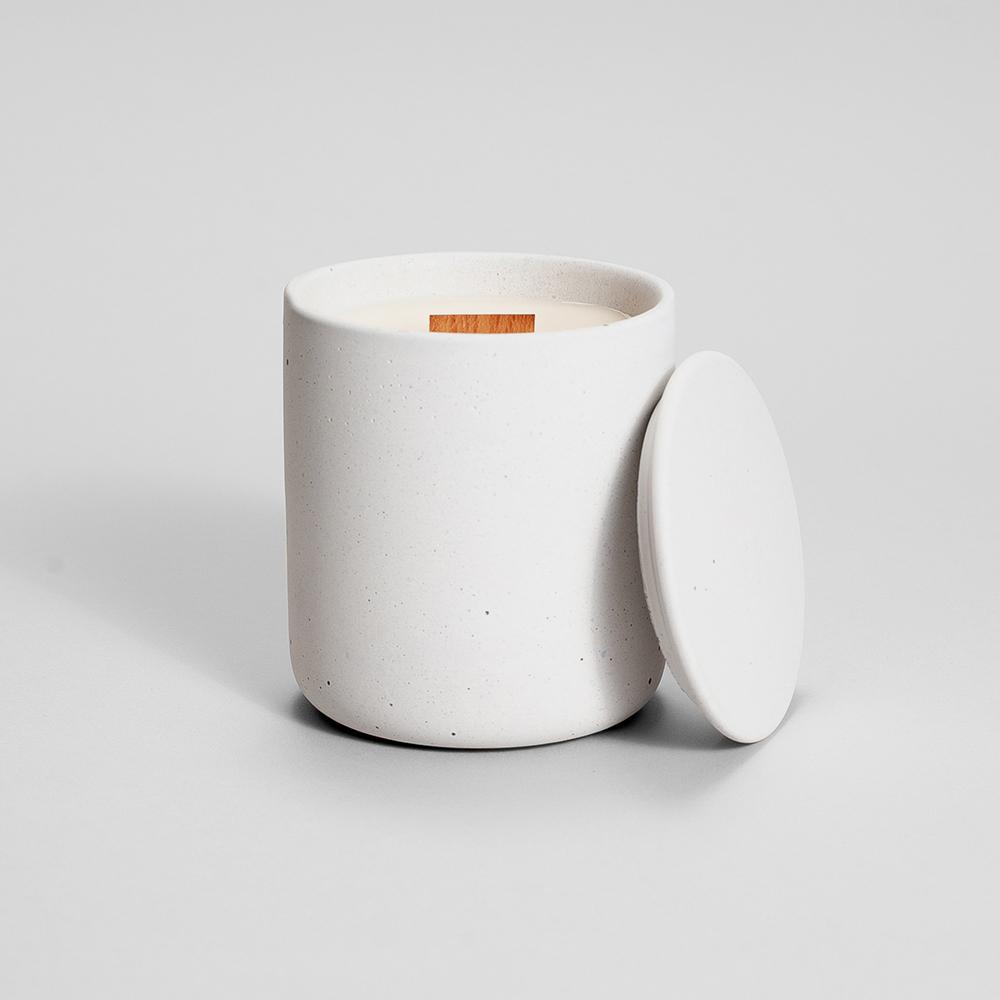 Zdjęcie produktu MEDIO WHITE CONCRETE - świeczka