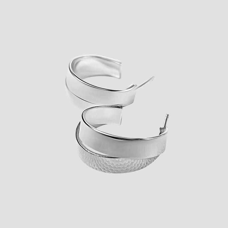 Zdjęcie produktu Lines Duo Mini - kolczyki