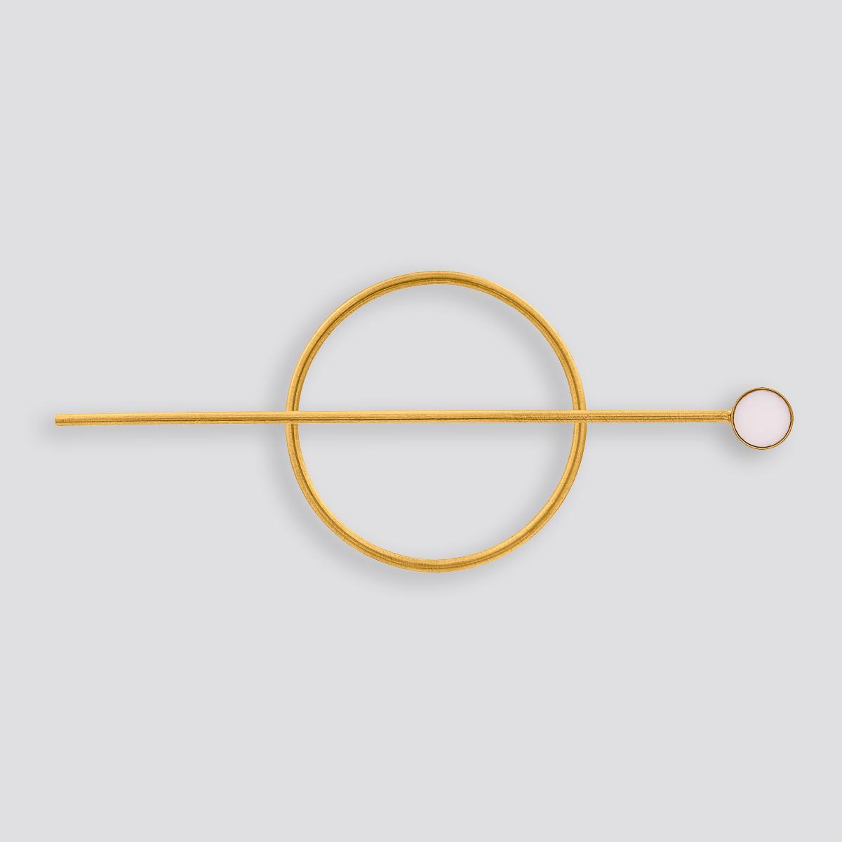 Zdjęcie produktu Spinka do włosów z opalem