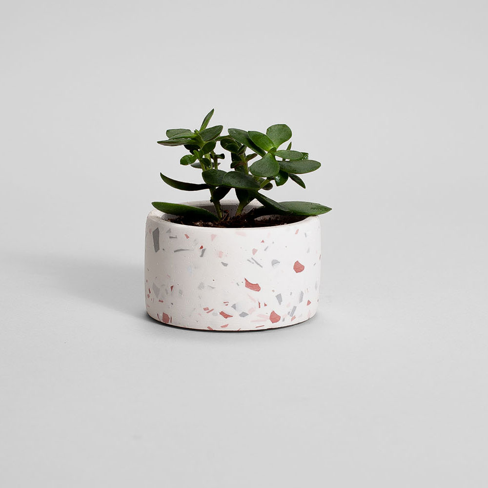 Zdjęcie produktu PARVI PINK TERRAZZO PLANT - doniczka