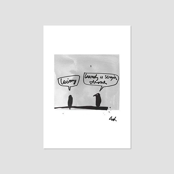 Zdjęcie produktu Pocztówka -  Lećmy – Każdy w swoją stronę