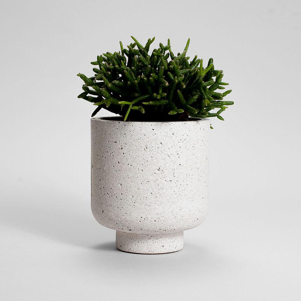 Zdjęcie produktu CAMPIO STRACIATELLA CONCRETE PLANT - doniczka