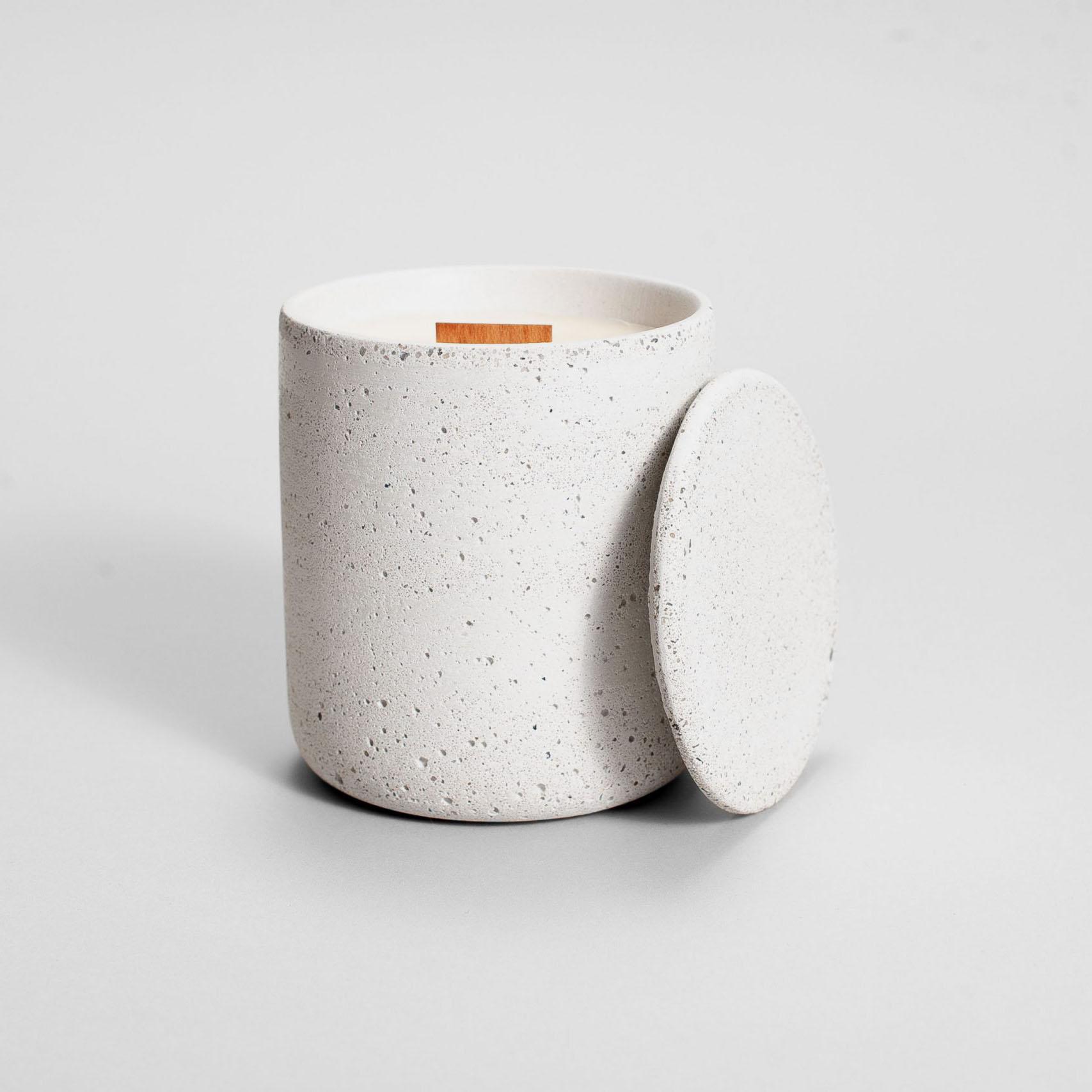 Zdjęcie produktu MEDIO STRACIATELLA WHITE - świeczka
