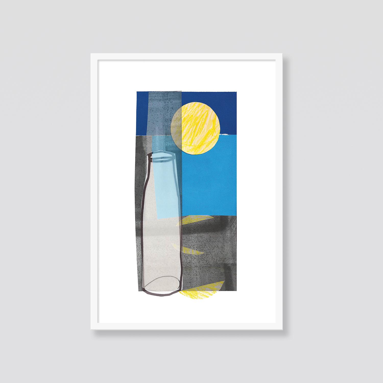 Zdjęcie produktu Martwa natura z butelką i słońcem