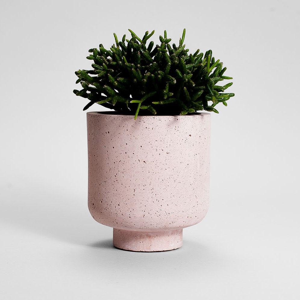 Zdjęcie produktu CAMPIO PINK CONCRETE PLANT - doniczka