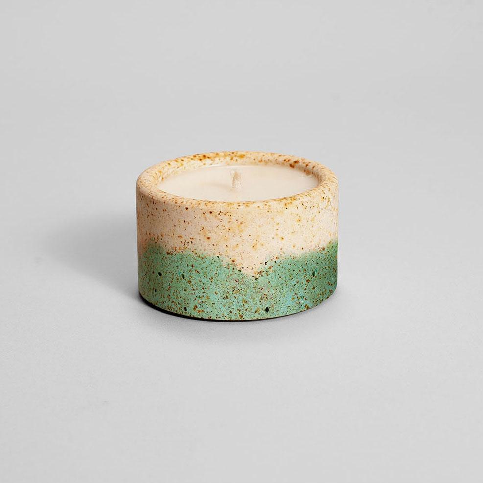 Zdjęcie produktu PARVI RUSTED TURQUOISE - świeczka
