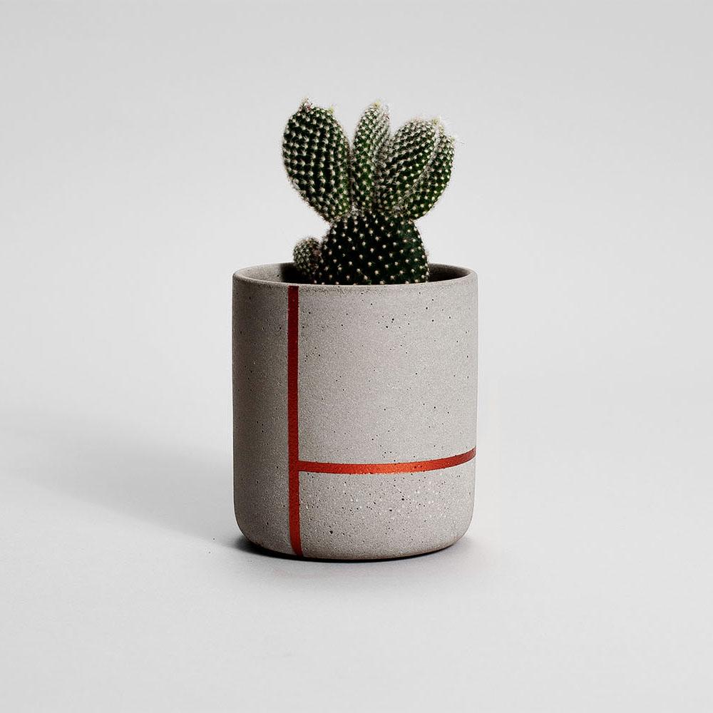 Zdjęcie produktu MEDIO COPPER LINES PLANT - doniczka