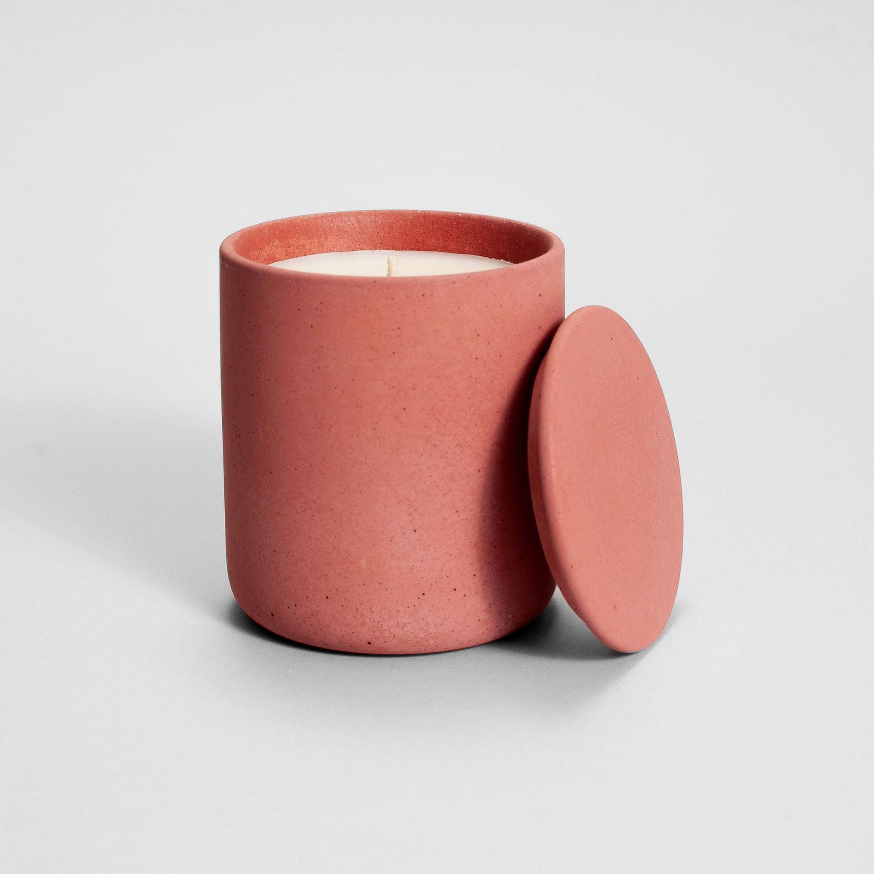 Zdjęcie produktu MEDIO TERRACOTTA CONCRETE - świeczka