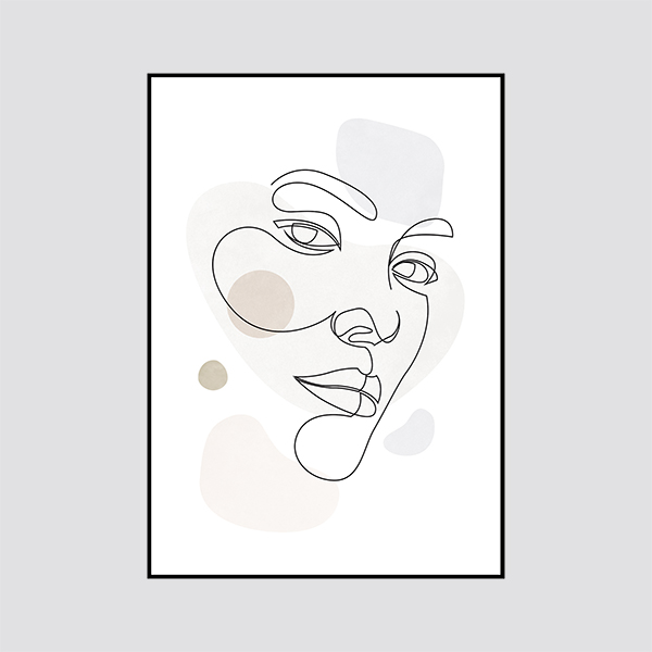Zdjęcie produktu Plakat Face