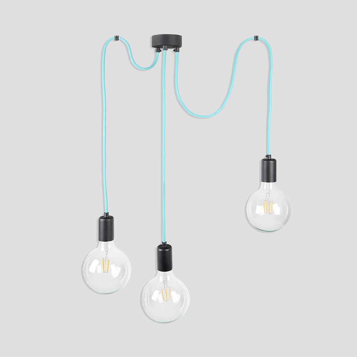 Zdjęcie produktu LAMPA PAJĄK CABLE THREE