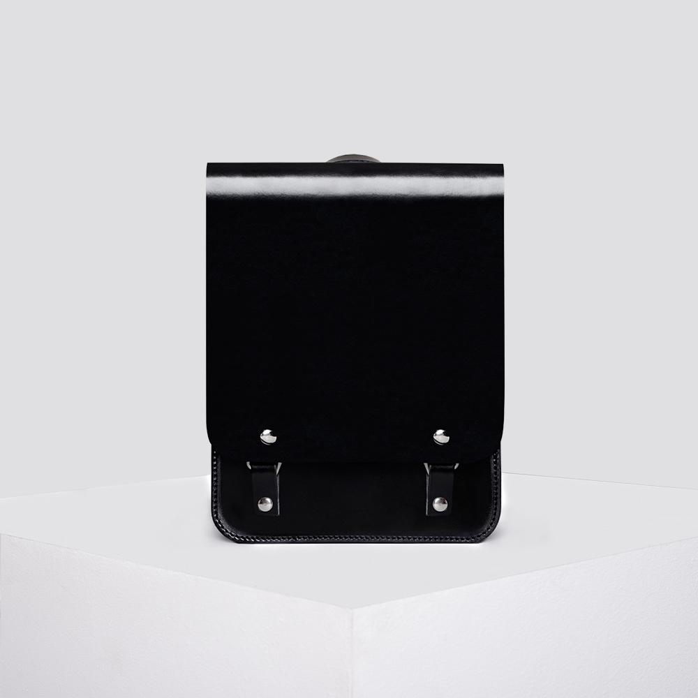 Zdjęcie produktu TORNISTER - skórzany czarny