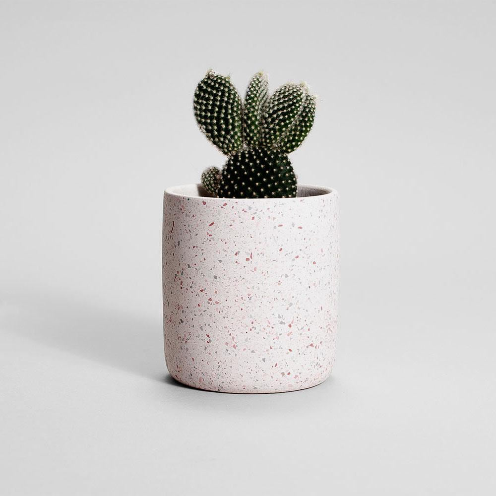 Zdjęcie produktu MEDIO PINK MICA PLANT - doniczka