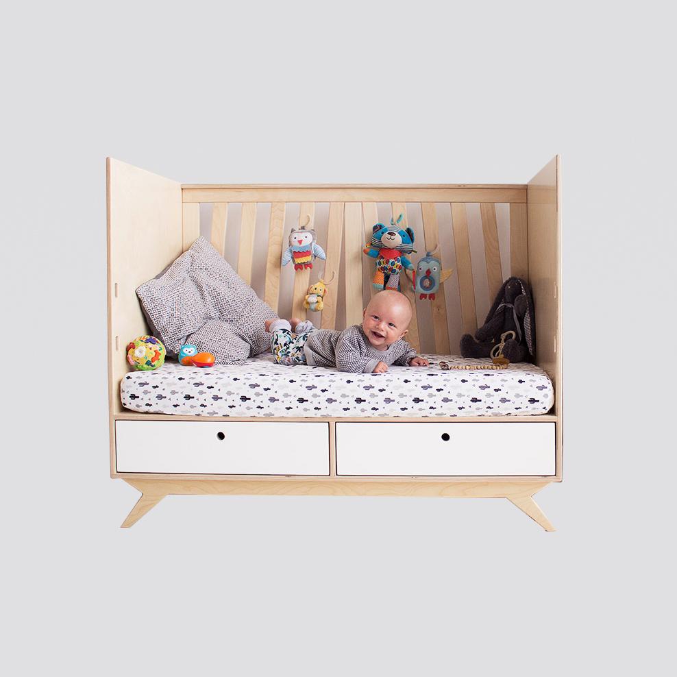 Zdjęcie produktu NEST.crib - łóżeczko