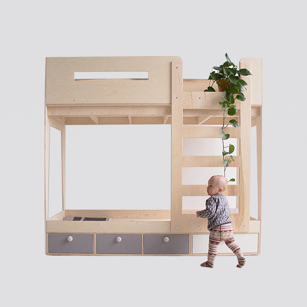 Zdjęcie produktu ZZZIP łóżko piętrowe