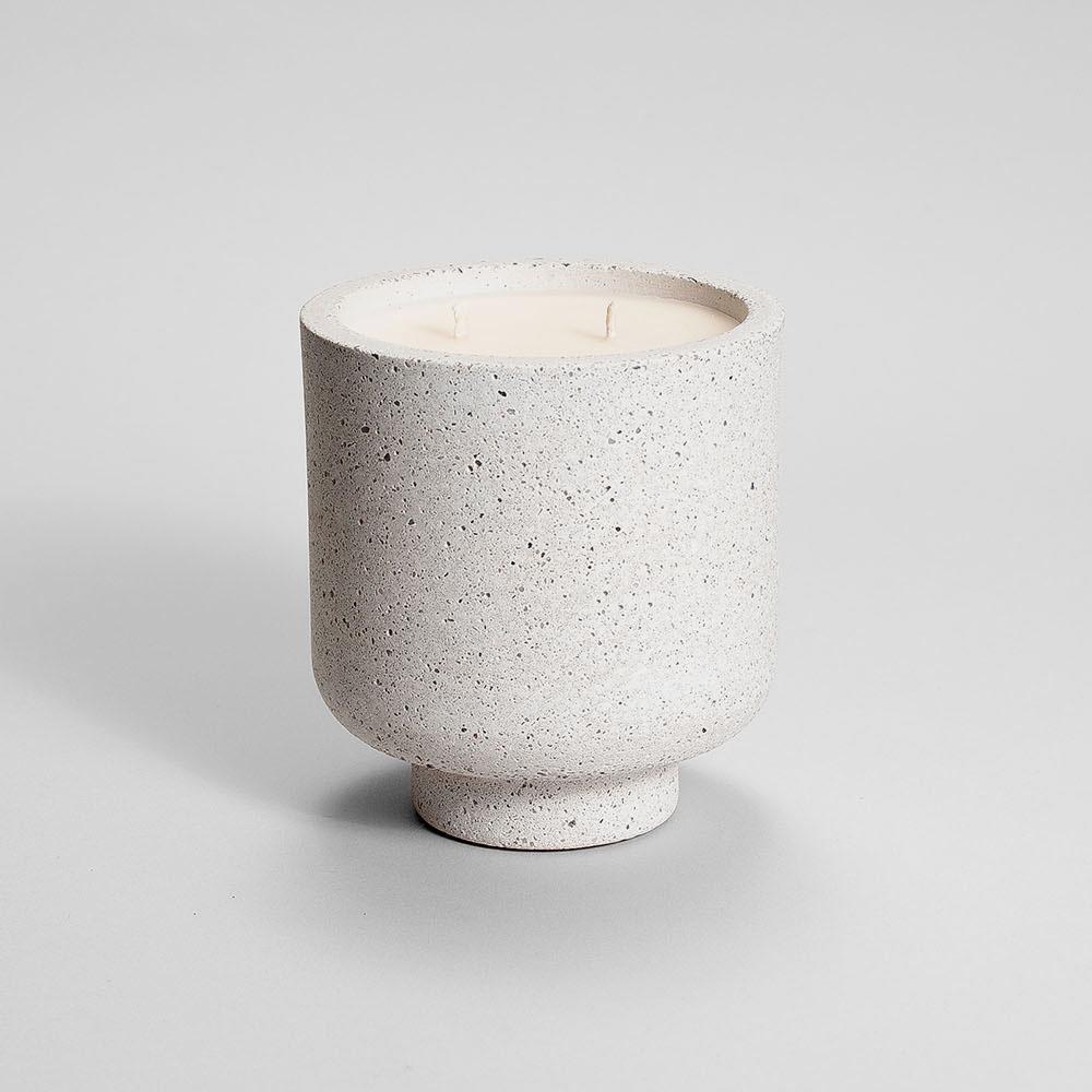 Zdjęcie produktu CAMPIO WHITE STRACIATELLA - świeczka