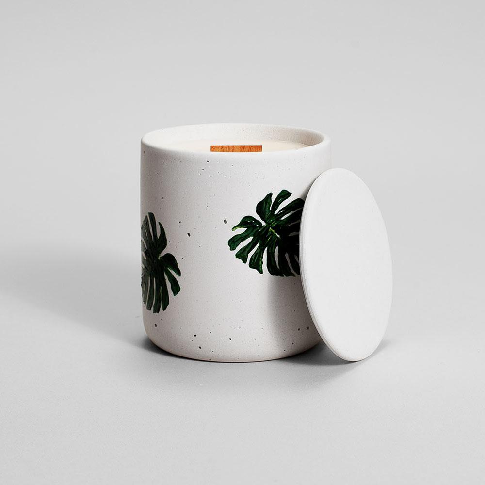 Zdjęcie produktu MEDIO MONSTERA DELICIOSA - świeczka