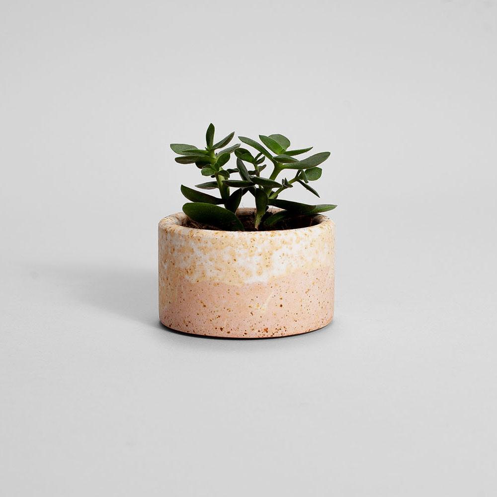 Zdjęcie produktu PARVI RUSTED PINK PLANT - doniczka