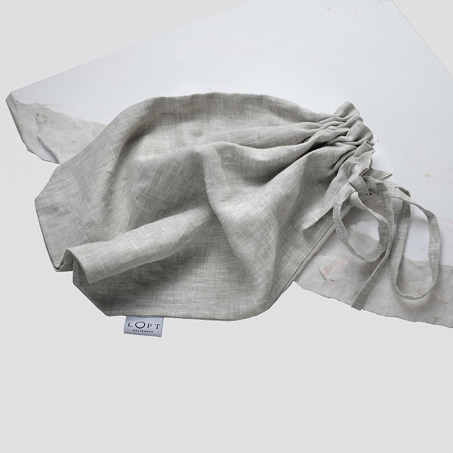 Zdjęcie produktu Worek na pieczywo z lnu