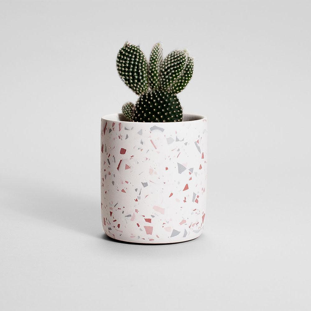 Zdjęcie produktu MEDIO PINK TERRAZZO PLANT - doniczka