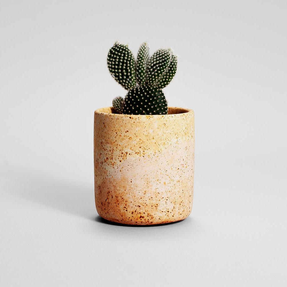 Zdjęcie produktu MEDIO RUSTED PINK PLANT  - doniczka