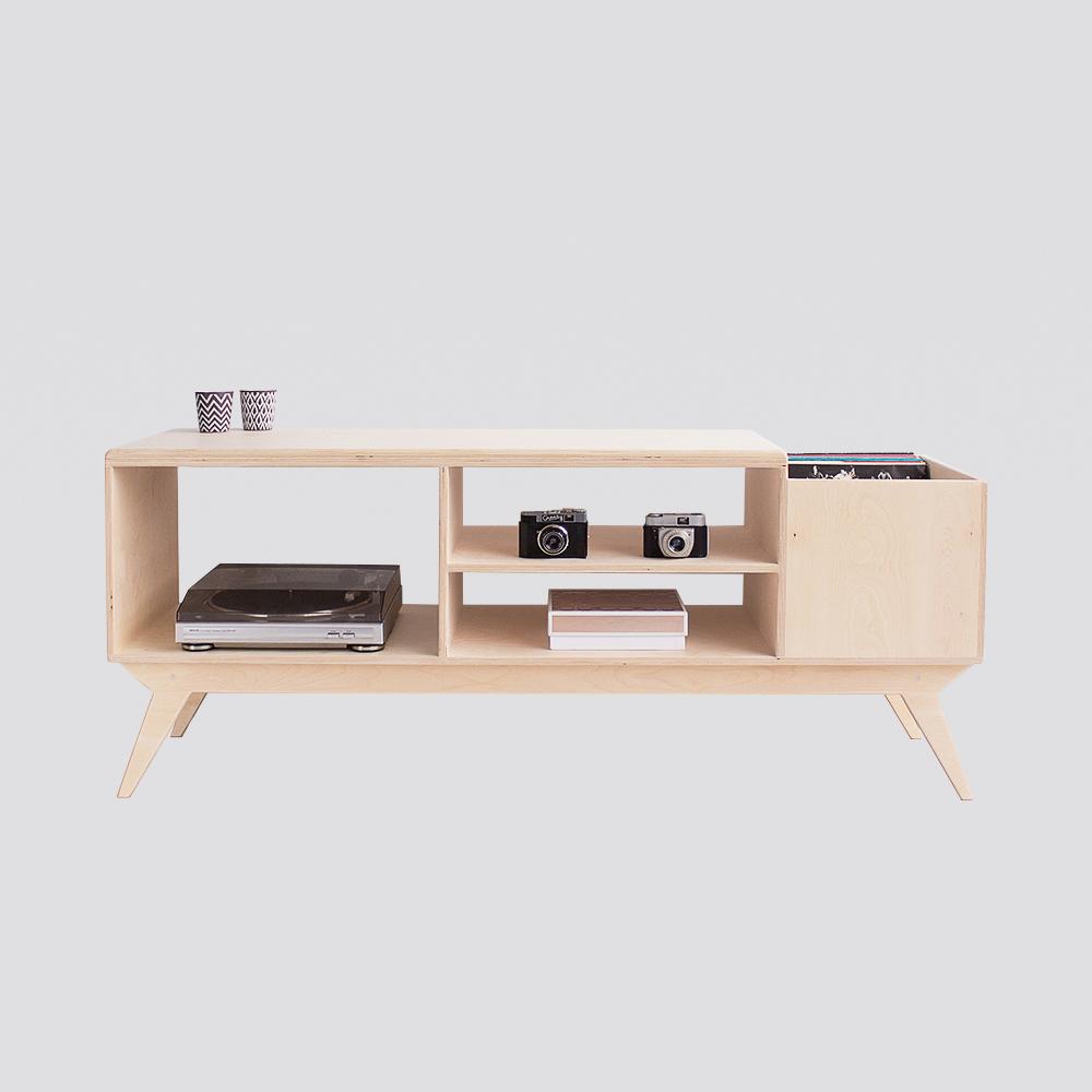 Zdjęcie produktu DRUPAL.vinyl - szafka TV