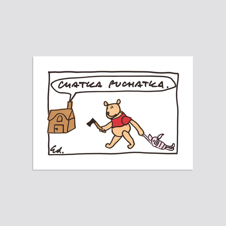 Zdjęcie produktu Pocztówka - Chatka Puchatka